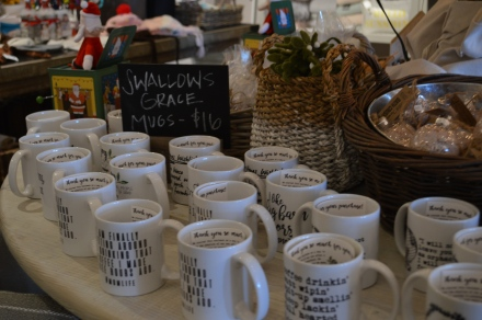 Swallows Grace Mugs $16