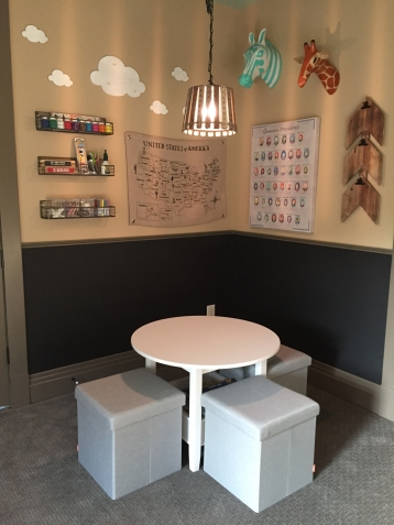 Client's playroom