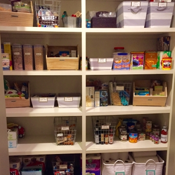 Client's Pantry Organization