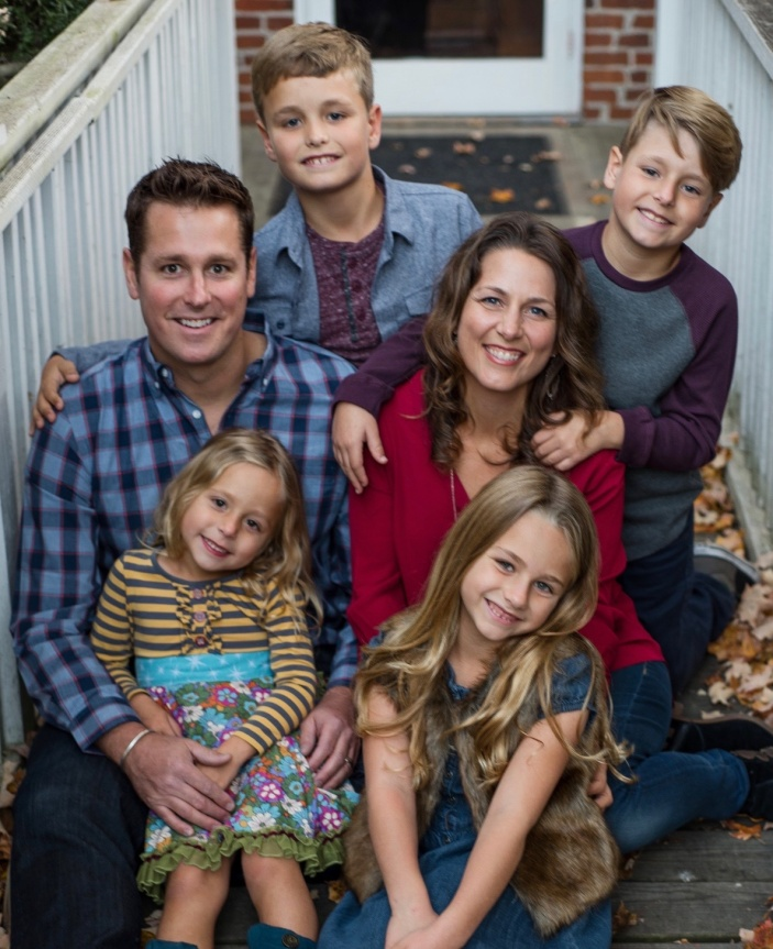 Amy's beautiful family