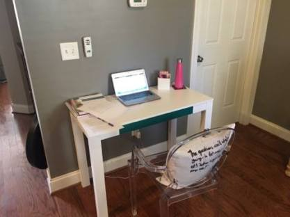 Julie's Ghost Chair
