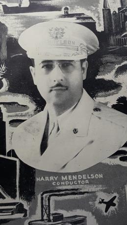 Harry Mendelson, Sr. as a Captain