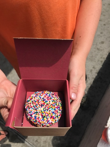 Sprinkles sprinkle cupcake!