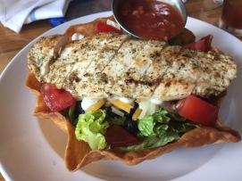 Taco Salad from Burger Up.