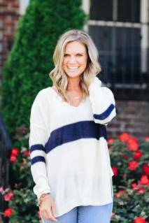 The Varsity Sweater $39 Photo from Hadley Rae Boutique