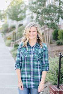 Plaid Button Down Top $29 Photo from Hadley Rae Boutique