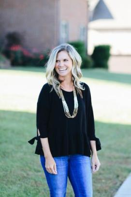 Young At Heart Top in Black $33 Photo from Hadley Rae Boutique