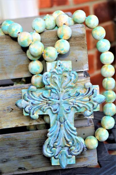 Handpainted Prayer Beads under $50