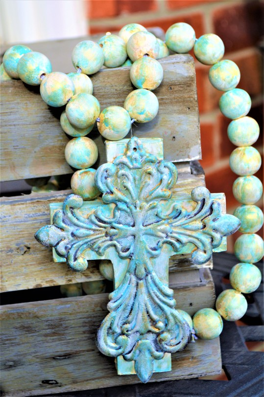 Handpainted Prayer Beads under $50